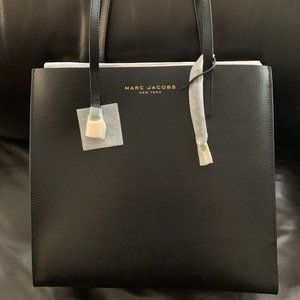 "Marc Jacobs ""The Grind Tote"" in Black, Elegant NWT"